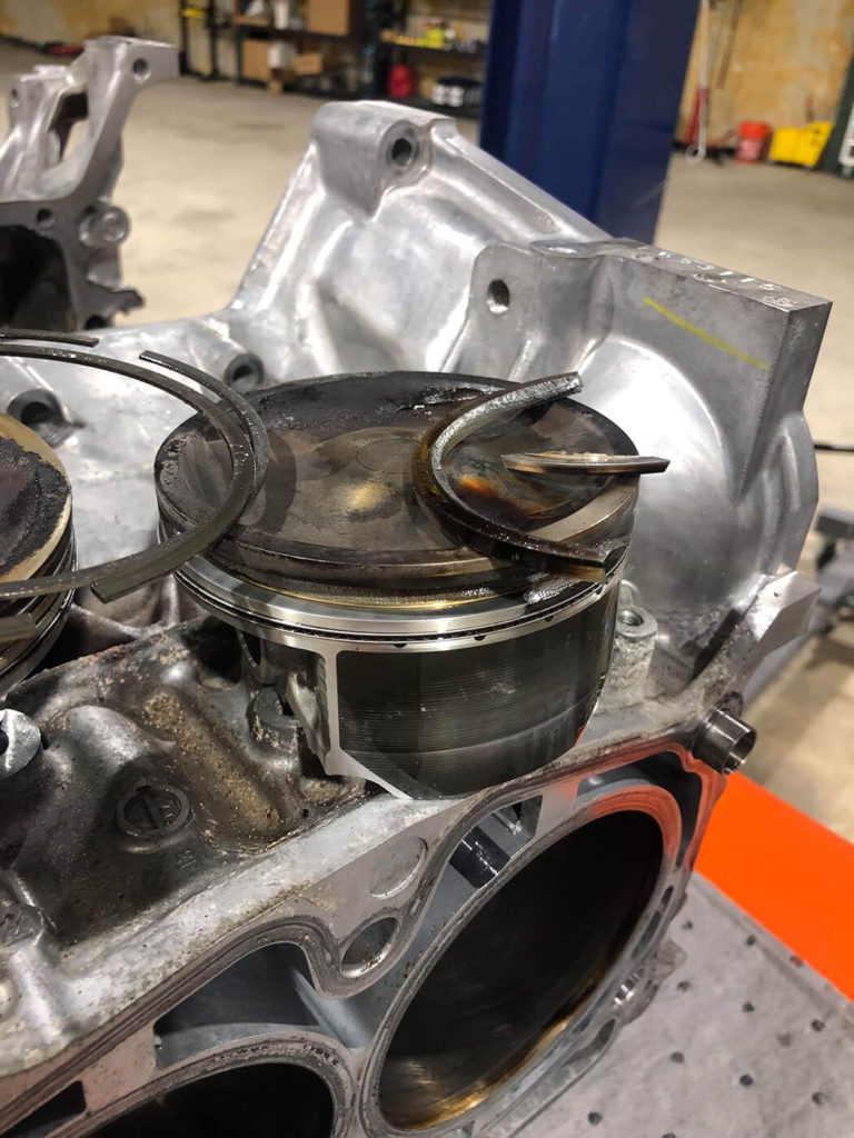 STi broken piston ring