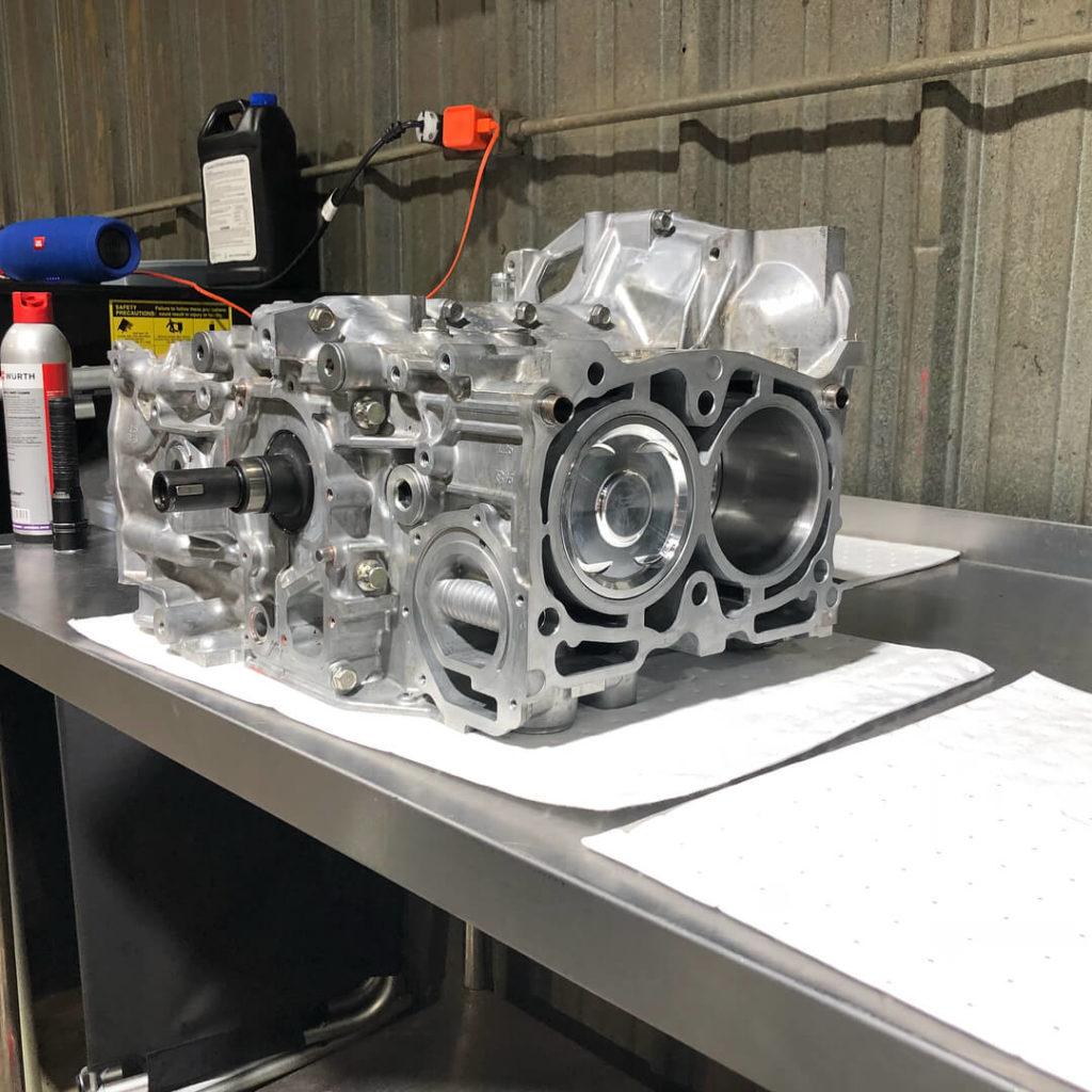 SL Autoworks Subaru engine build