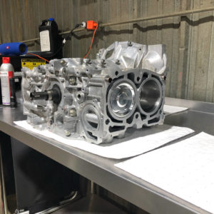 SL Autoworks Subaru engine build