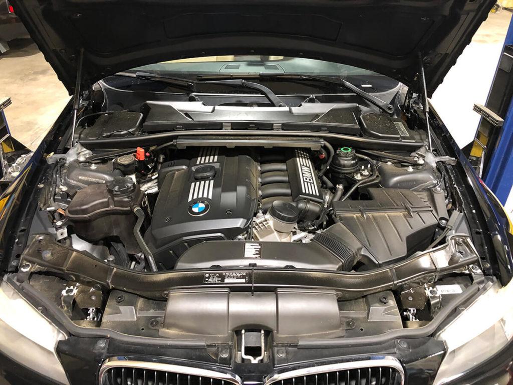 clean engine BMW 328i