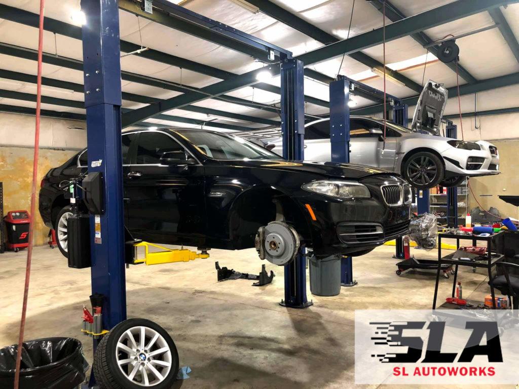 BMW brakes SL Autoworks