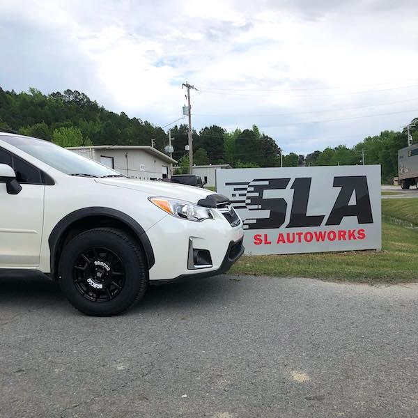 Subaru white