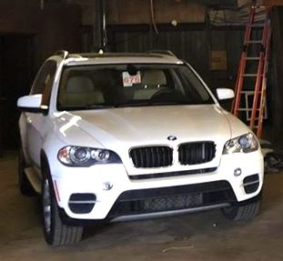 BMW timing chain fix white BMW