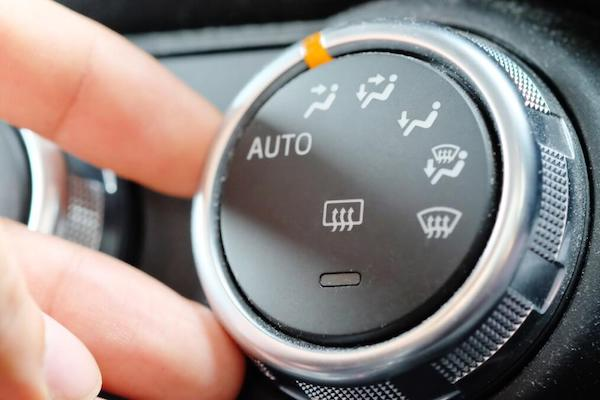 air conditioning knob