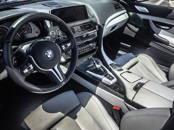 inside BMW car BMW Air Conditioning