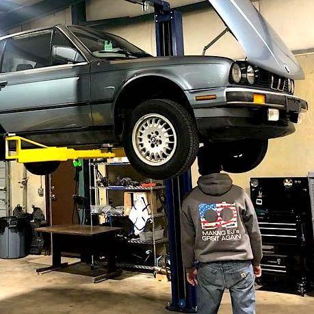 BMW brake flush inspection