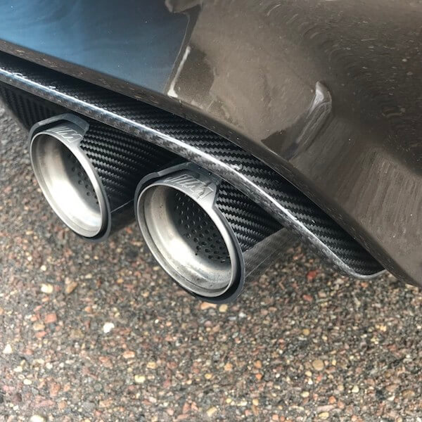 BMW exhaust tips