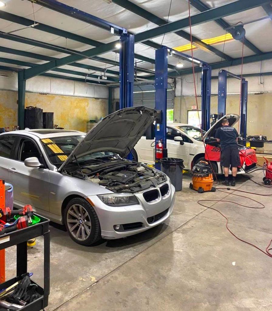 BMW maintenance service oil change