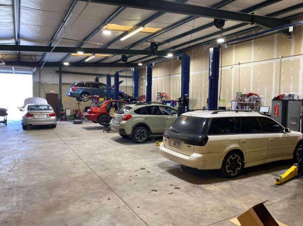 mechanic shop tune-up