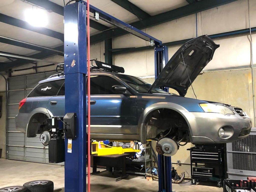 brake pad replacement subaru